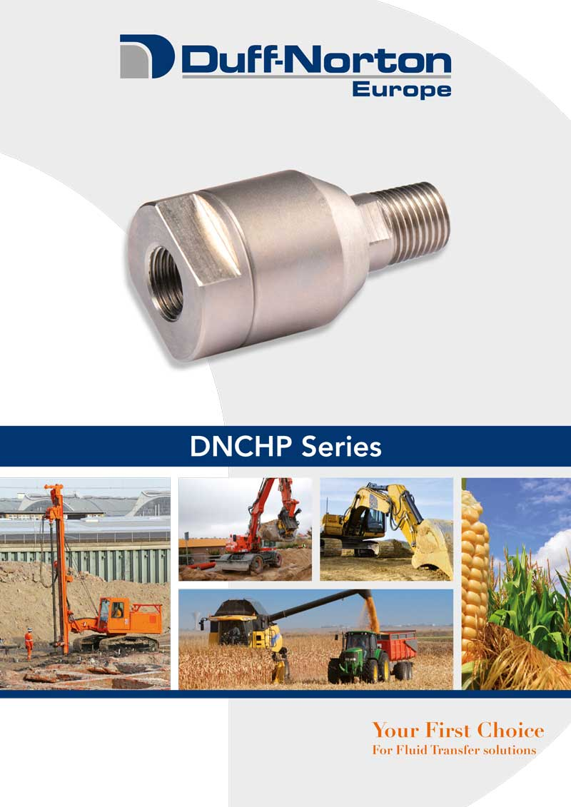 DNCHP Rotary Union data sheet