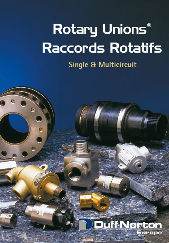 Rotary Unions single and multicircuit
